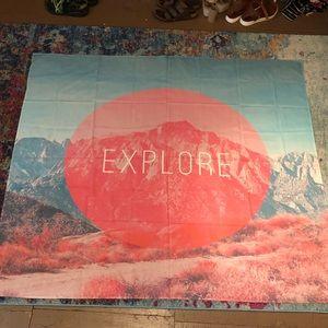 Society6 Wall Art - 'Explore' tapestry
